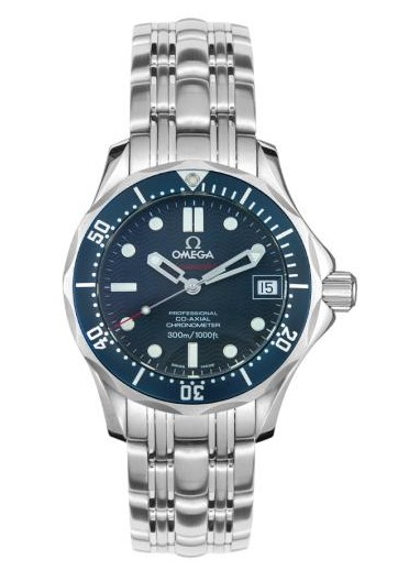 Omega Seamaster Series Mens Stainless Steel Wristwatch-2222.80