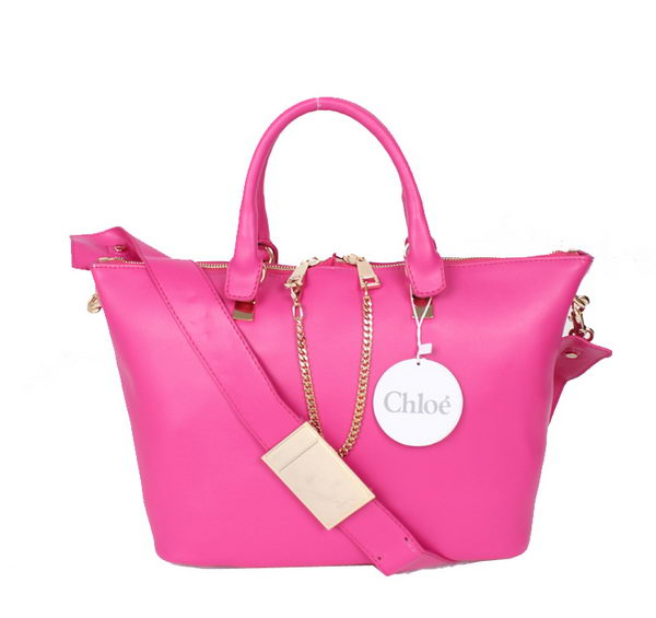 Chloe Baylee C0168 Rose Small Leather Tote Bag