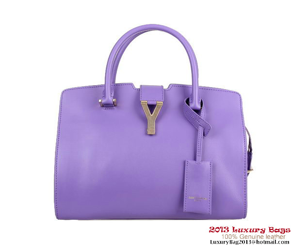 Yves Saint Laurent Small Clafskin Cabas Chyc Bag Y0032 Violet