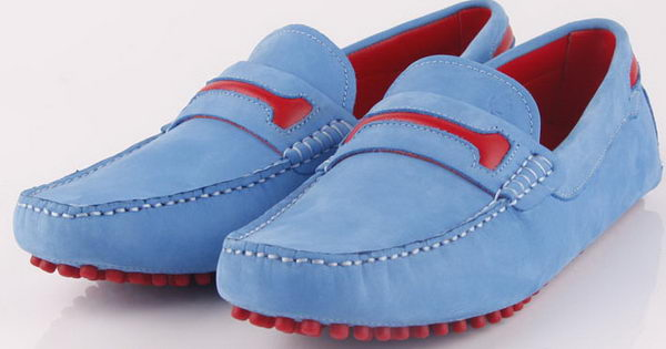 Tods Leather Ballerina TO262 Blue