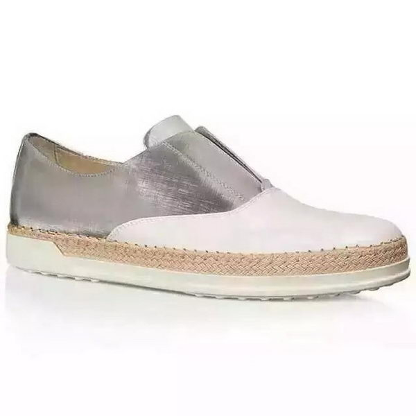 Tods Casual Shoes Leather TO302 OffWhite