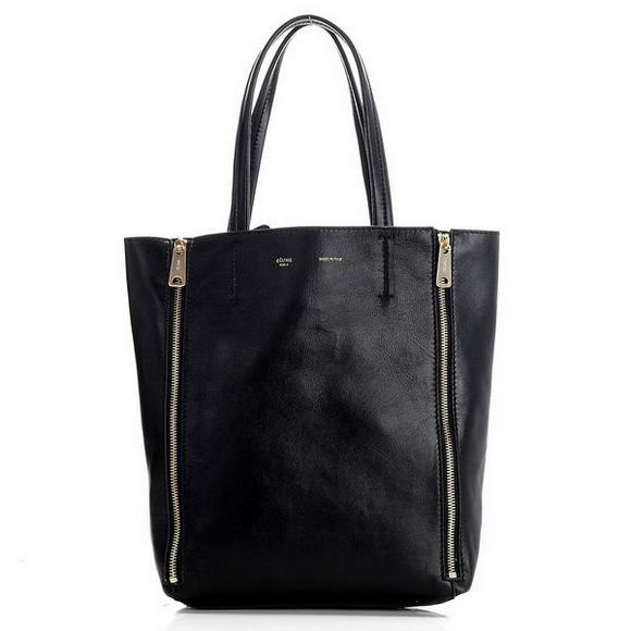 Celine Cabas Mini Shopping Bags Black