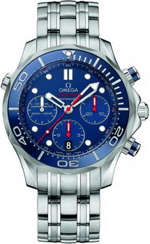Omega Seamaster 300 M Chrono Diver Watch 158585A