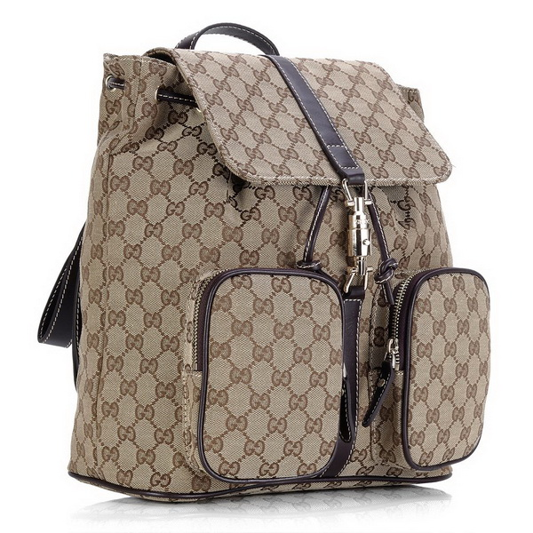 Gucci GG Fabric Backpack Bag 225566