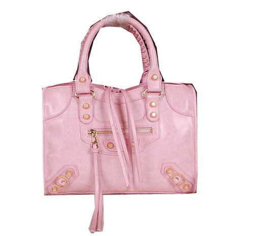Balenciaga Small Gaint Gold Part Time Bag 90355 Pink