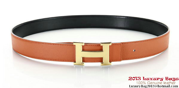 Hermes 43mm Saffiano Leather Belt HB102-1