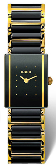 Rado Integral Series Scratch Resistant Ceramic Quartz Ladies Watch R20383162