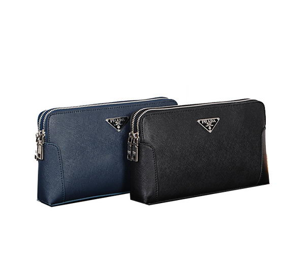 Prada Saffiano Leather Clutch 3337