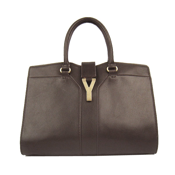 Newest 2012 Yves Saint Laurent Medium Cabas Chyc Bag YSL1891 Brown