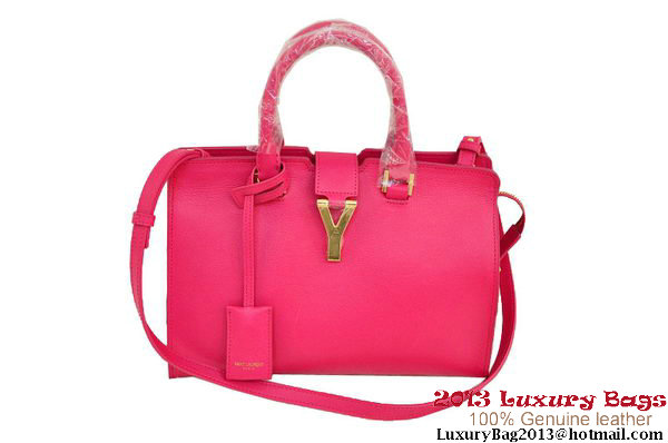 Yves Saint Laurent Small Goatskin Cabas Chyc Bag 2034 Rose