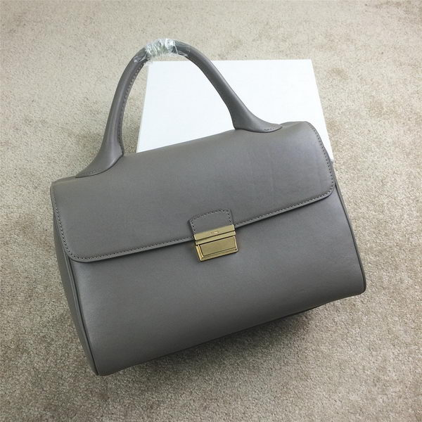 Celine Top Handle Bag Original Leather C20135L Grey