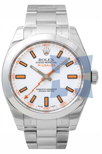 Rolex Milgauss Series Fashionable Mens Automatic Watch 116400W