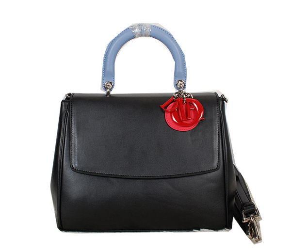 Dior Cruise 2015 Show Top Handle Bag D0522 Black