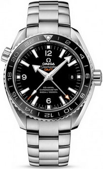 Omega Seamaster Planet Ocean GMT Watch 158603D