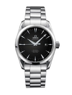 Omega Seamaster Aqua Terra Series Mens Stainless Steel Wristwatch-2504.50.00