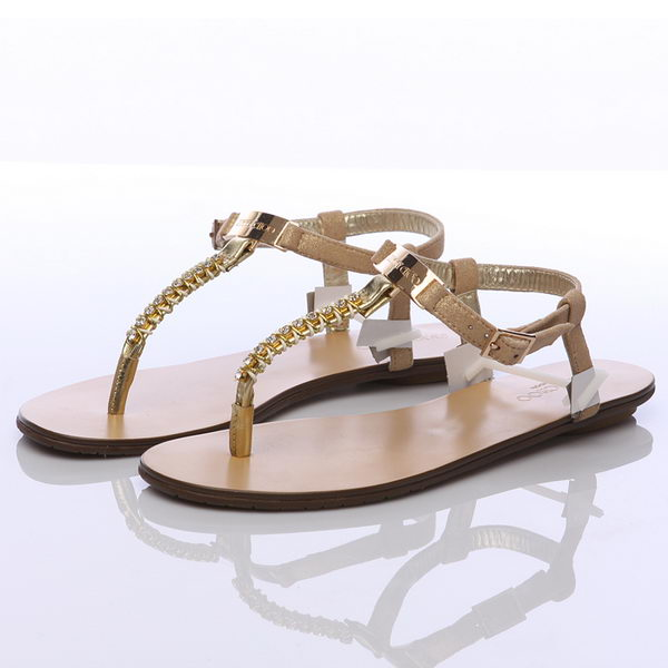 Jimmy Choo Flat Slipper JMC0207 Gold