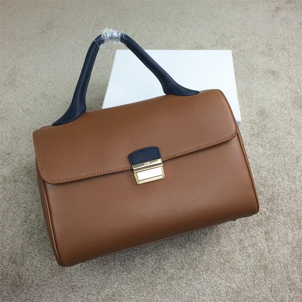 Celine Top Handle Bag Original Leather C20135L Wheat