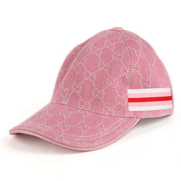 Gucci Hat GG17 Pink