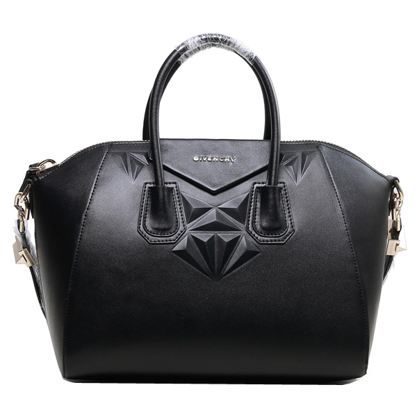 2013 Newest Givenchy Small Antigona Bag Nappa Leather 9981S Black