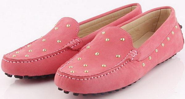 Tods Ballerina Calfskin Leather TO257 Pink