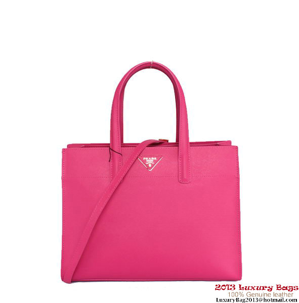Prada Soft Saffiano Leather Tote Bag BN2603 Plum