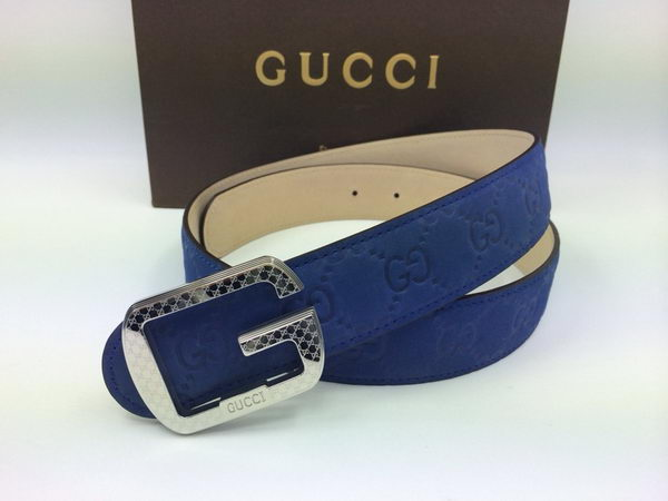 GUCCI Belt GI1380A Blue