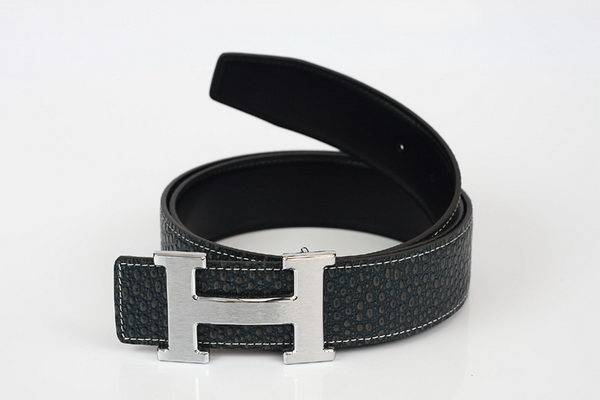 Hermes Belt Lizard Leather HB5326 Black