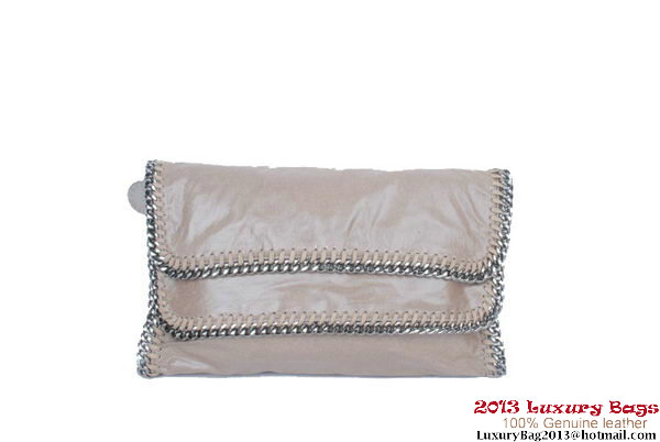 Stella McCartney Falabella Clutch 812L Grey