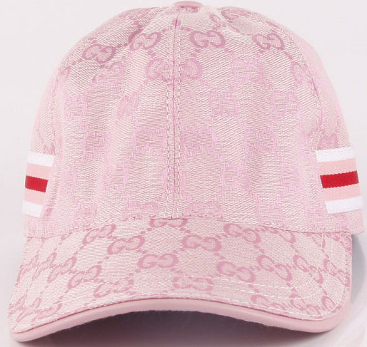 Gucci Peaked Cap GG48 Pink