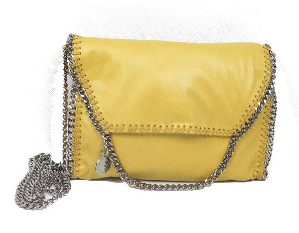 Stella McCartney Falabella PVC Cross Body Bag 875 Yellow