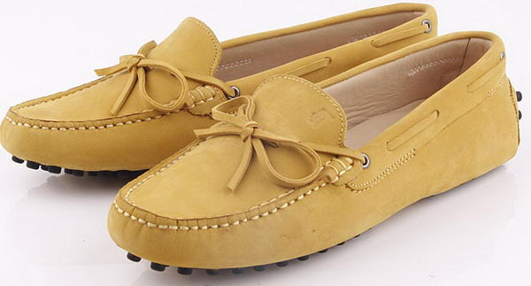 Tods Ballerina Suede Leather TO243 Wheat