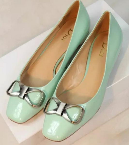 Dior Patent Leather Flat Dior0257XL Green