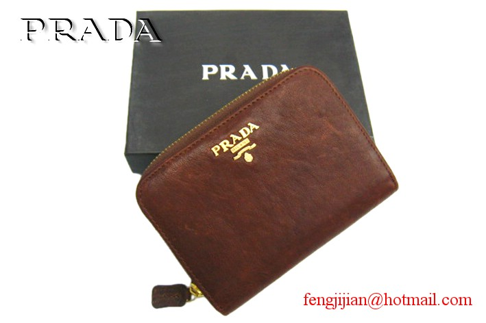 Prada 2010 New wallet P-B805 brown
