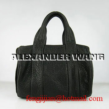 Alexander Wang Leather Duffle Bag 63460 Black