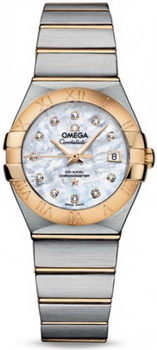 Omega Constellation Brushed Chronometer Watch 158625M