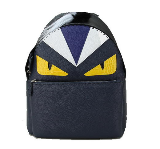 Fendi Selleria Backpacks Original Leather FD8862I Royal