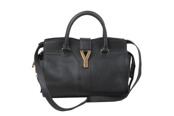 Yves Saint Laurent Small Cabas Chyc Bag YSL176 Black