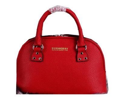 BurBerry Original Leather Tote Bag 39530001 Red
