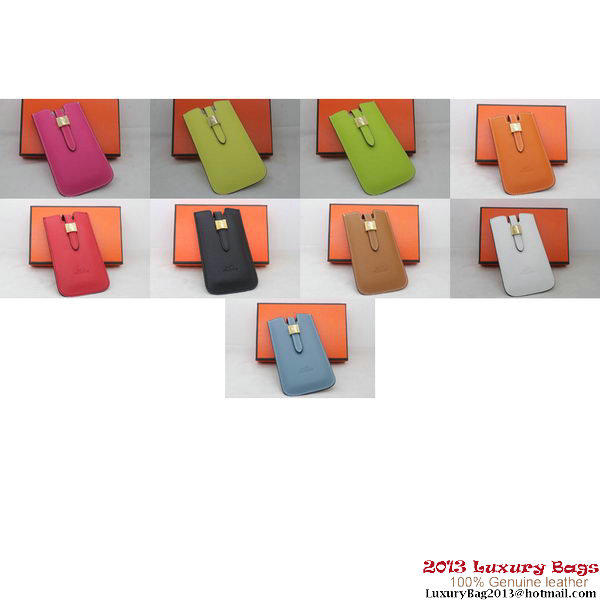 Hermes iPhone 5 Case Togo Leather HiC008