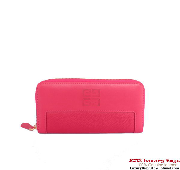 Givenchy Classics Zippy Wallet G405 Peach
