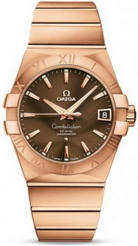 Omega Constellation Chronometer 38mm Watch 158630M
