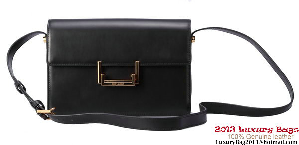 Yves Saint Laurent Classic Medium Lulu Bag Original Leather Y037 Black
