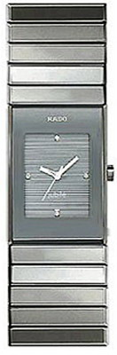 Rado Ceramica Series Quartz Ladies Watch R21480712 in Gray
