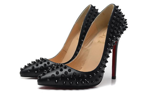 Christian Louboutin PIGALLE SPIKES 120mm CL1316 Black