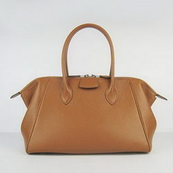 Hermes Paris Bombay Bag Light Coffee