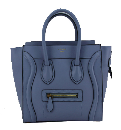 Celine Luggage Micro Bag Original Leather CL88023 Royal