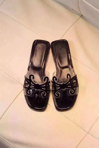 Hermes Slipper PVC HO0503 Black