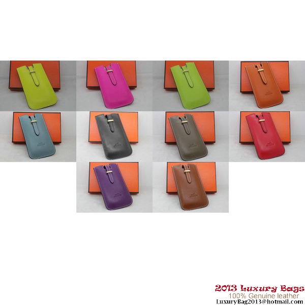 Hermes iPhone 5 Case Togo Leather HiC010