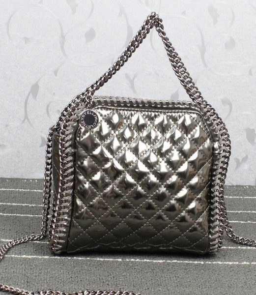 Stella McCartney Falabella mini Clutch 885 Silver
