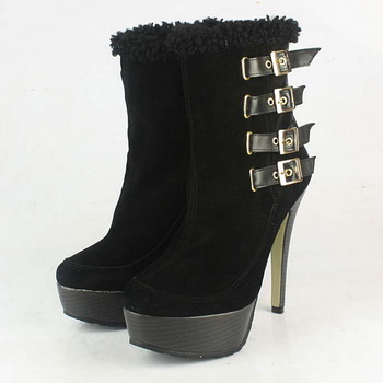 Jimmy Choo Trixie Suede Bootie Black